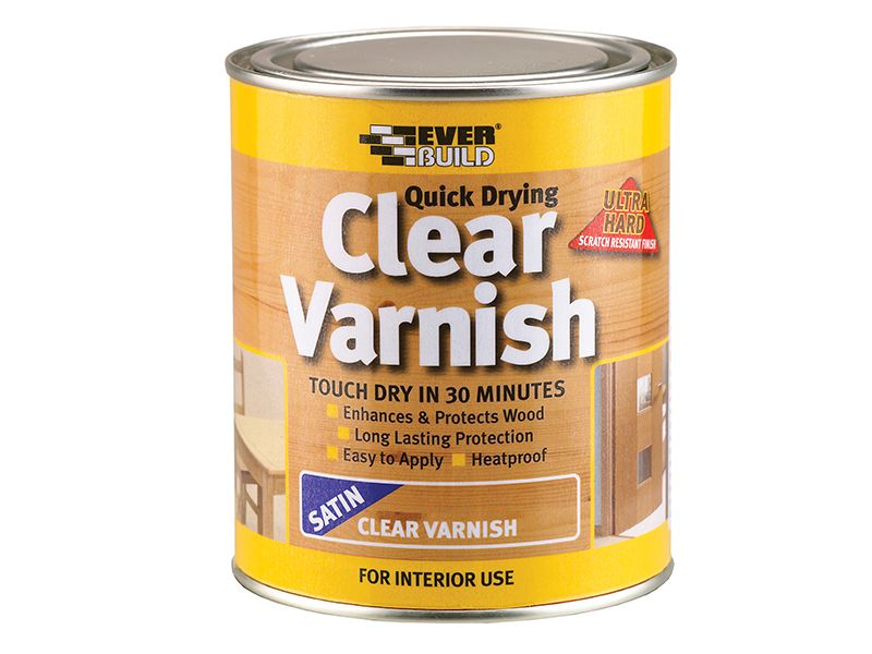 Clear Varnish Satin 750ml