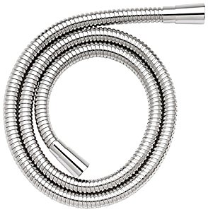 Croydex 1.5m Reinforced Shower Hose Stainless Steel