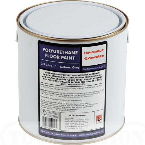 Universal Floor Paint Grey 5L