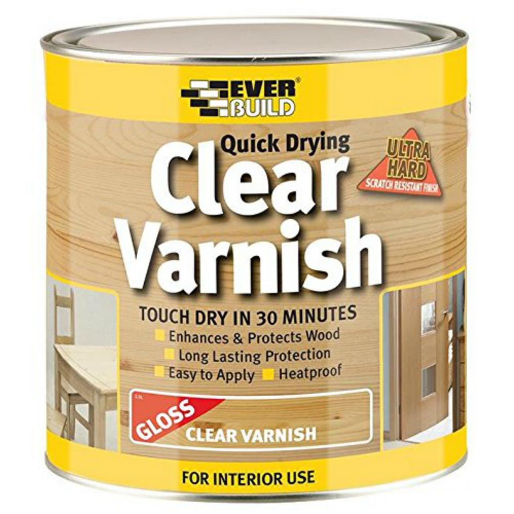 Clear Varnish Gloss 2.5Ltr