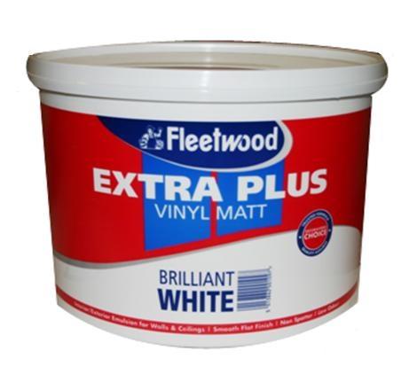 Fleetwood EX Plus Matt Brilliant White 10L