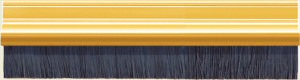 Brush Strip 914mm Gold