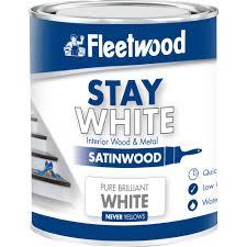 Stay Satinwood White (WB) 750ml
