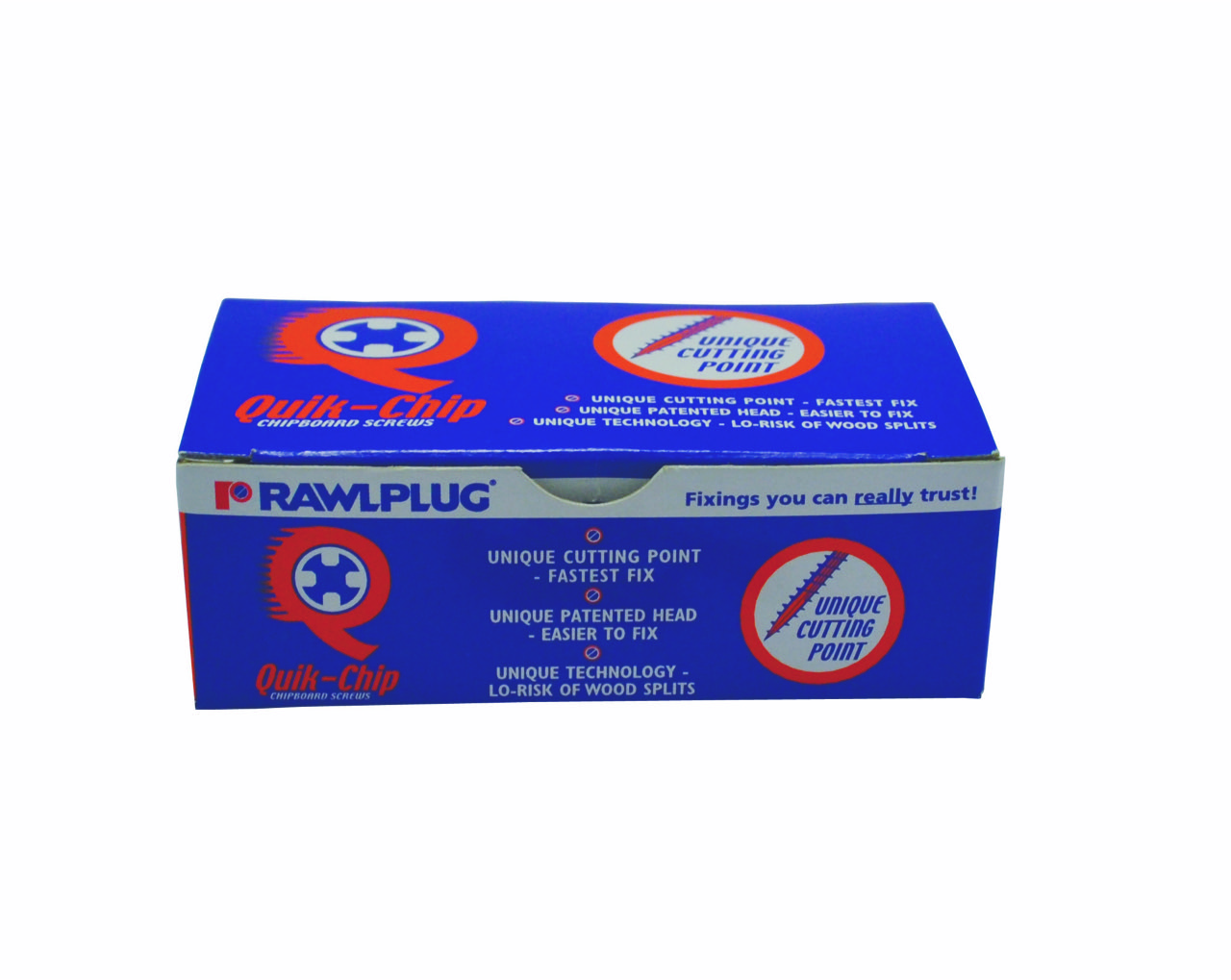 Rawlplug Chipboard Screw 4x50mm Yellow (200)