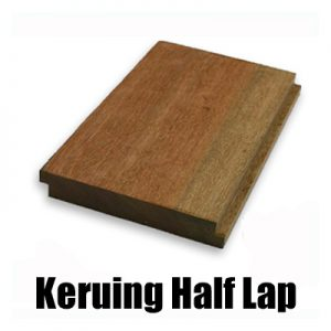 140 x 21mm  Keruing Half Lapped