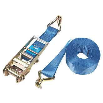 Lashing Strap 8mx50mm 5000kg with Ratchet and Hooks