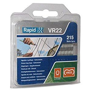Rapid VR22 Fence Hog Rings (215) Galvanised