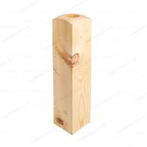 Burbidge Newel Base NB700x90x90mm Pine