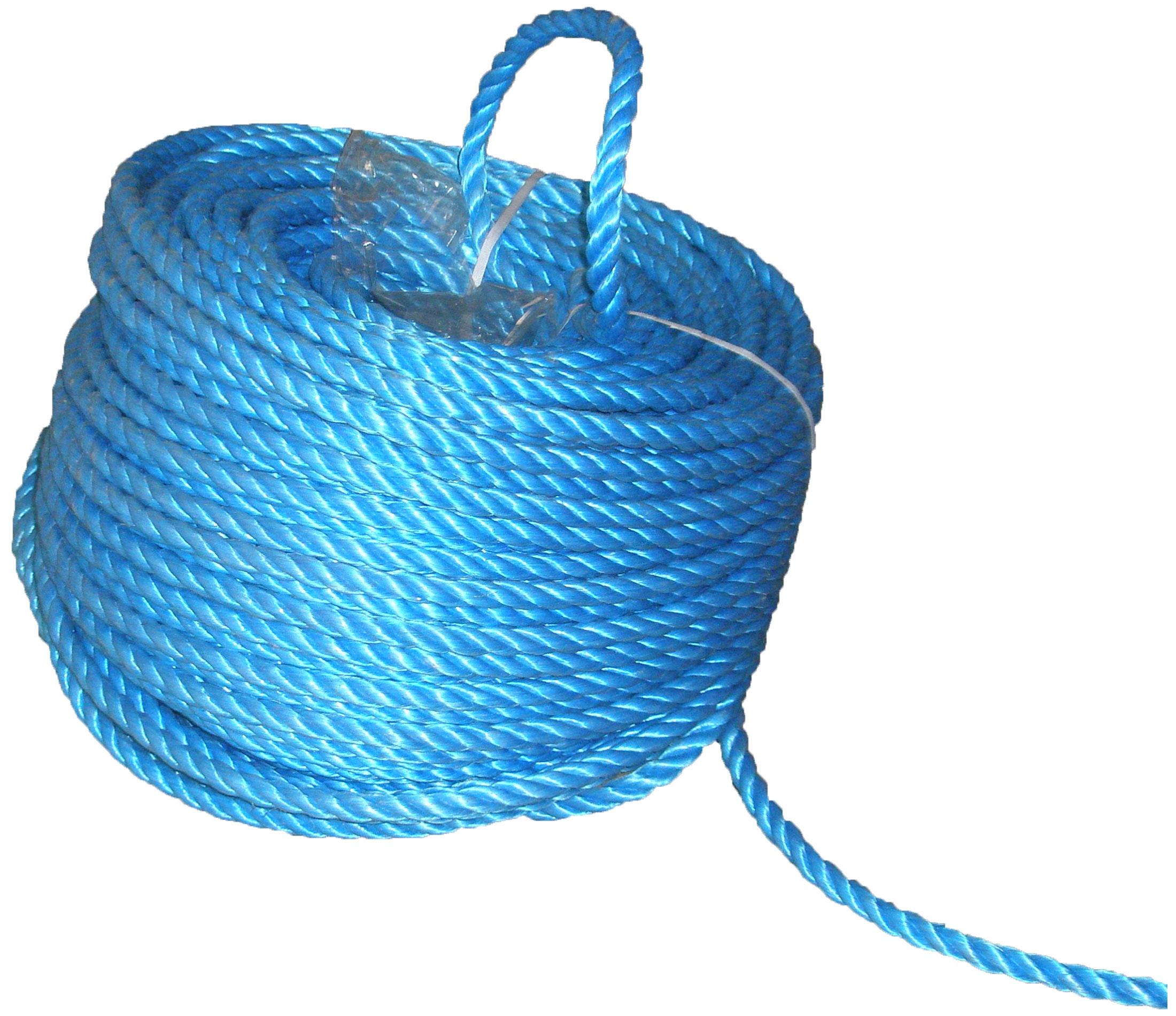 Polypropylene Rope 6mmx30m Minicoil Blue