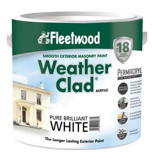 Weatherclad Brilliant White 10L