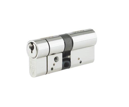 Yale 90mm Euro Profile Turn Cylinder Chrome