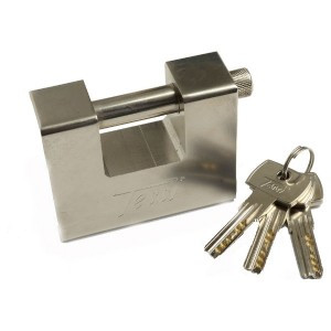 Tessi 85mm Steel Roller Shutter Lock With High Security Key