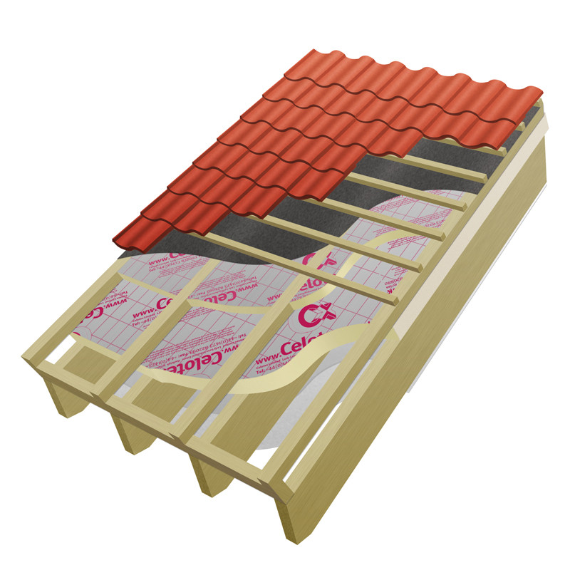 100mm Polyiso Pitched Roof Insulation 4.44m2 pk (Rafter-Fit)