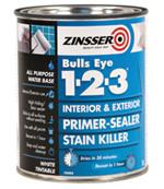 Zinsser Bulls Eye 1-2-3 Primer Sealer 2.5L