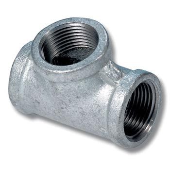 "Galvanised Tee 3/4"" 90 Degree"