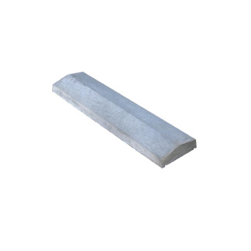 "Concrete Wall Caps 7"" x 3ft"