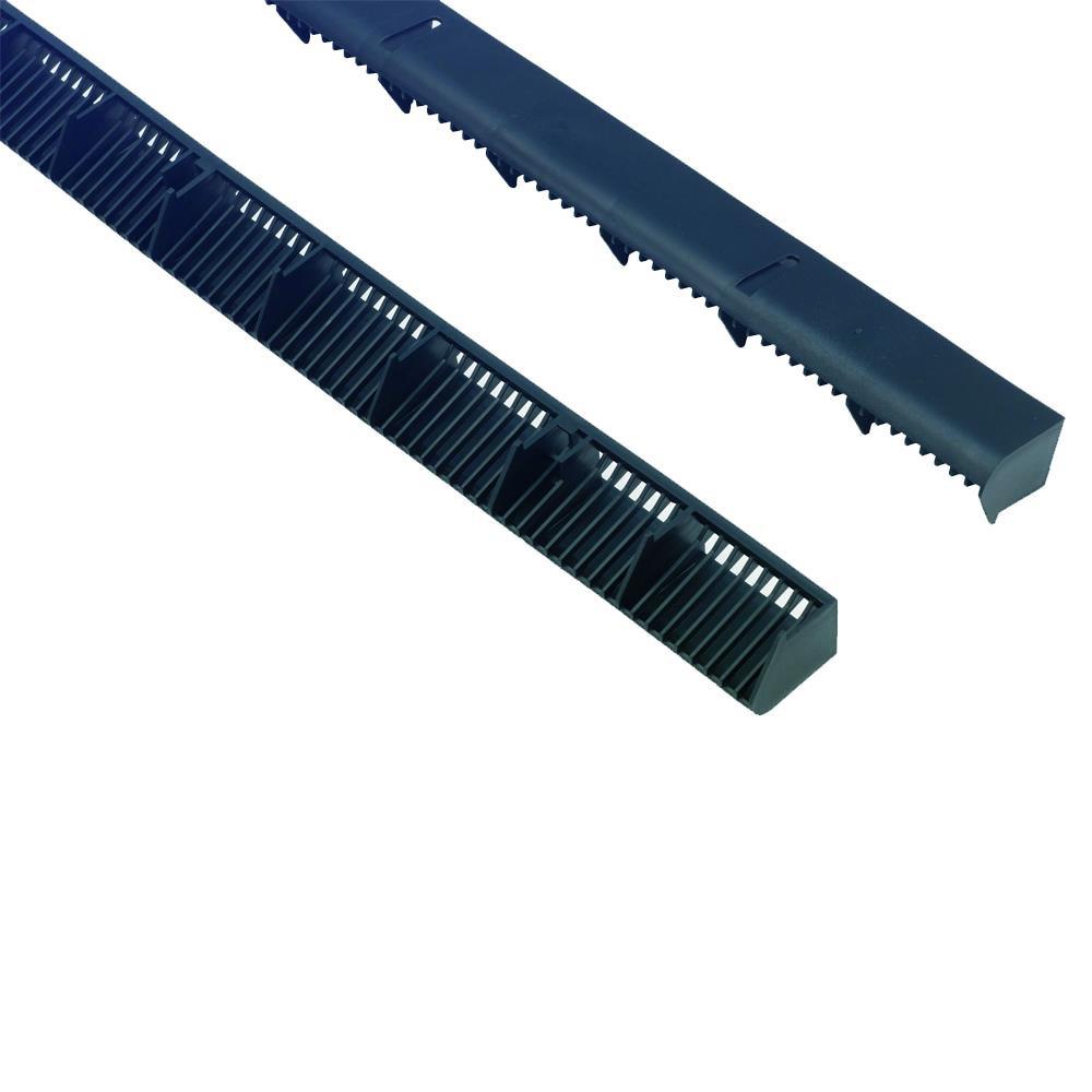 Over Fascia Vent 10mm x1m Black (Airflow 10,000mm2/per mtr)