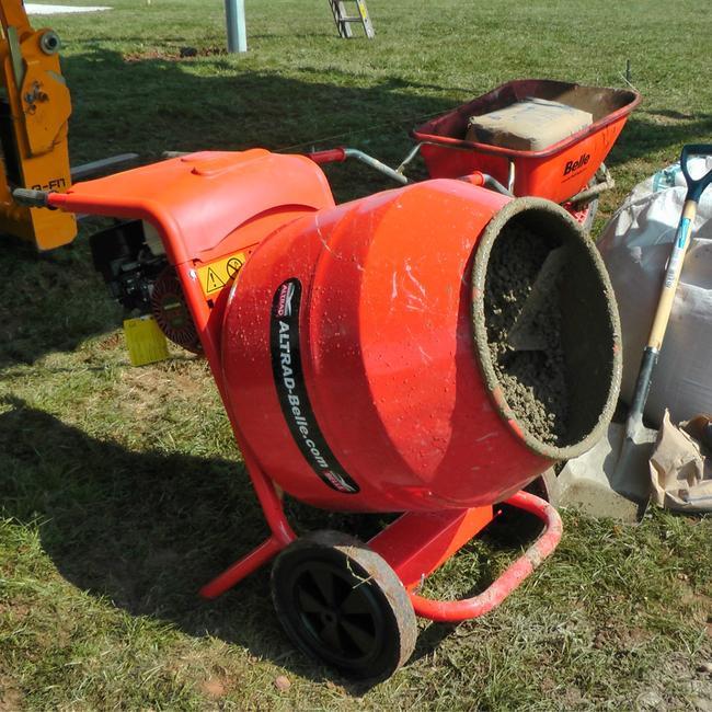 Belle Honda Petrol Cement Mixer 1/2 Bag (150Ltr)