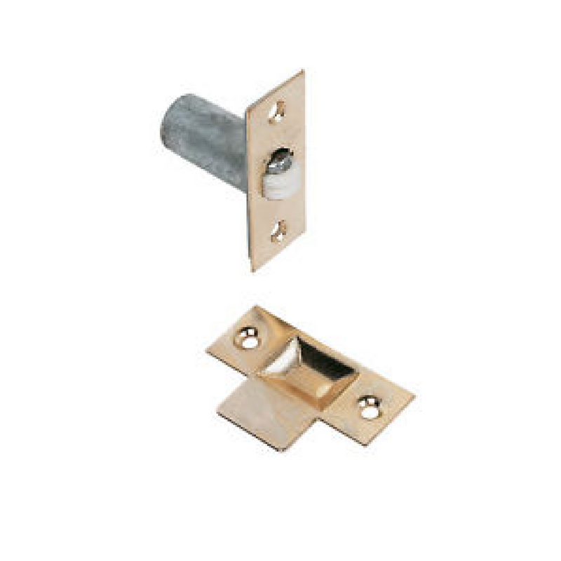 Roller Ball Catch EB Electro Brassed (2 Pack)