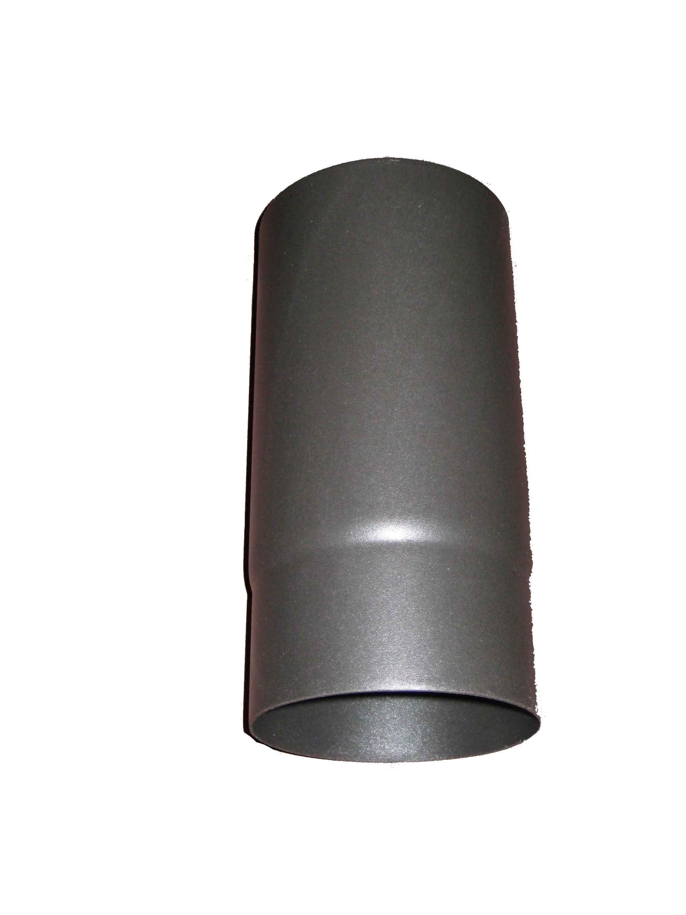 "Matt Black Enamel 250mm Straight MBE Pipe 5"""