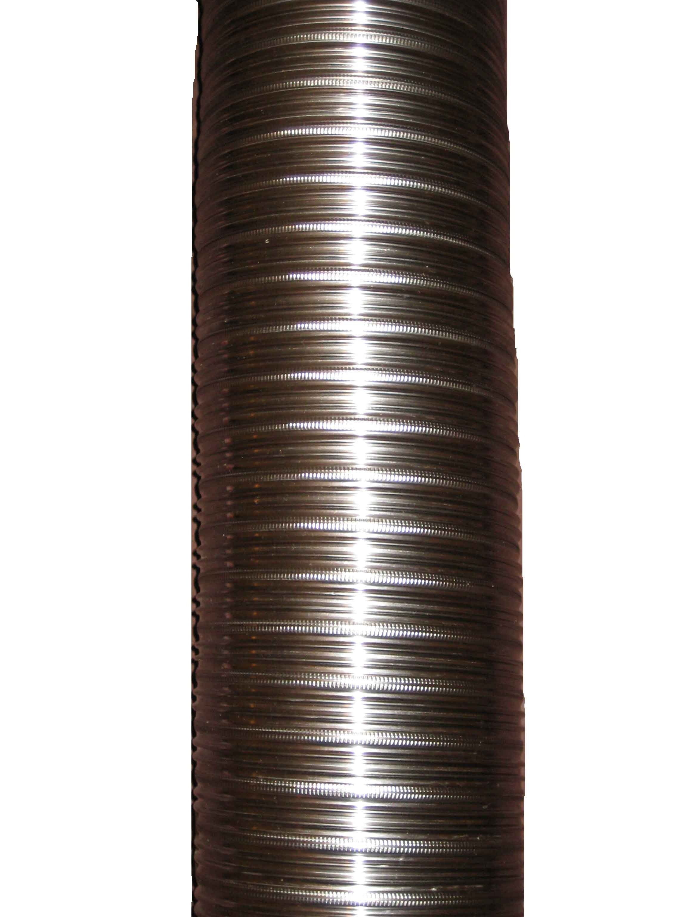 6m 150mm 316/316 Twin Wall Flexible Flue Liner