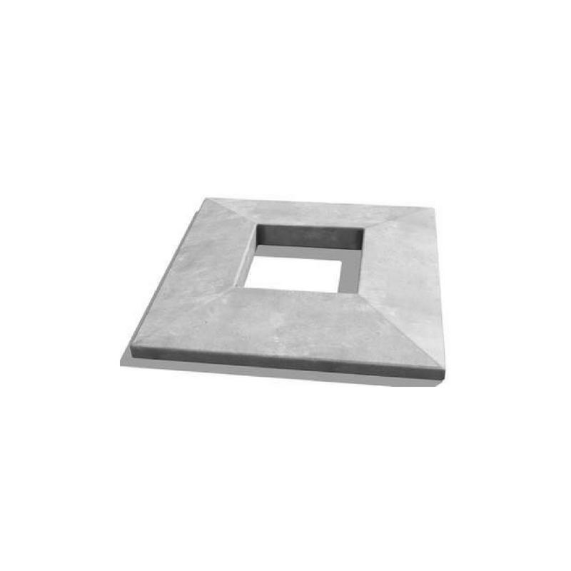"Concrete Chimney Caps 28x28"""