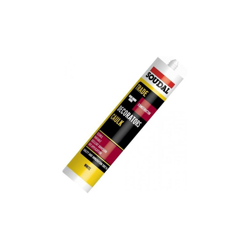 Decorators Caulk Trade Pack 6x290ml Tubes