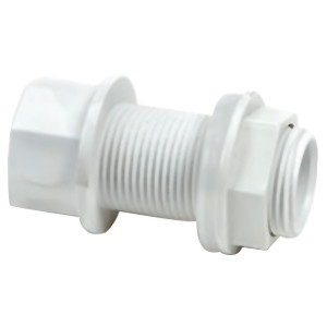 Overflow Tank Connector Straight 3/4""