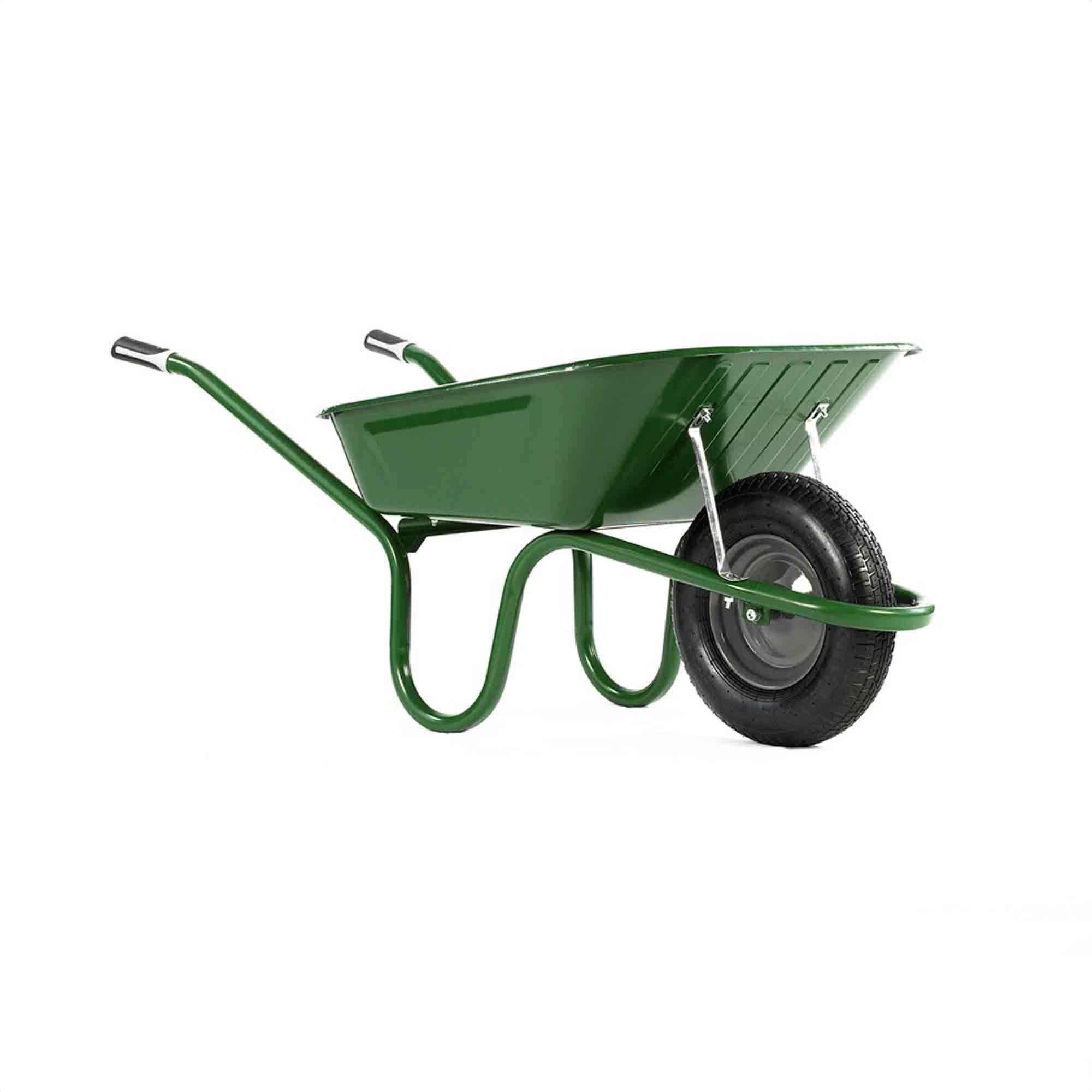 Haemmerlin 1041 Original Green Wheel Barrow 90LT  (Pueumatic)