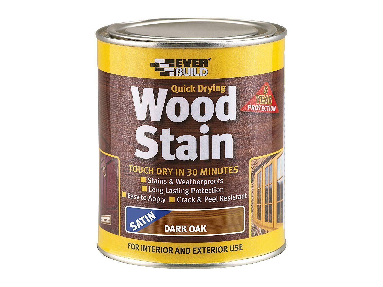 Woodstain Satin Mahogany 2.5Ltr