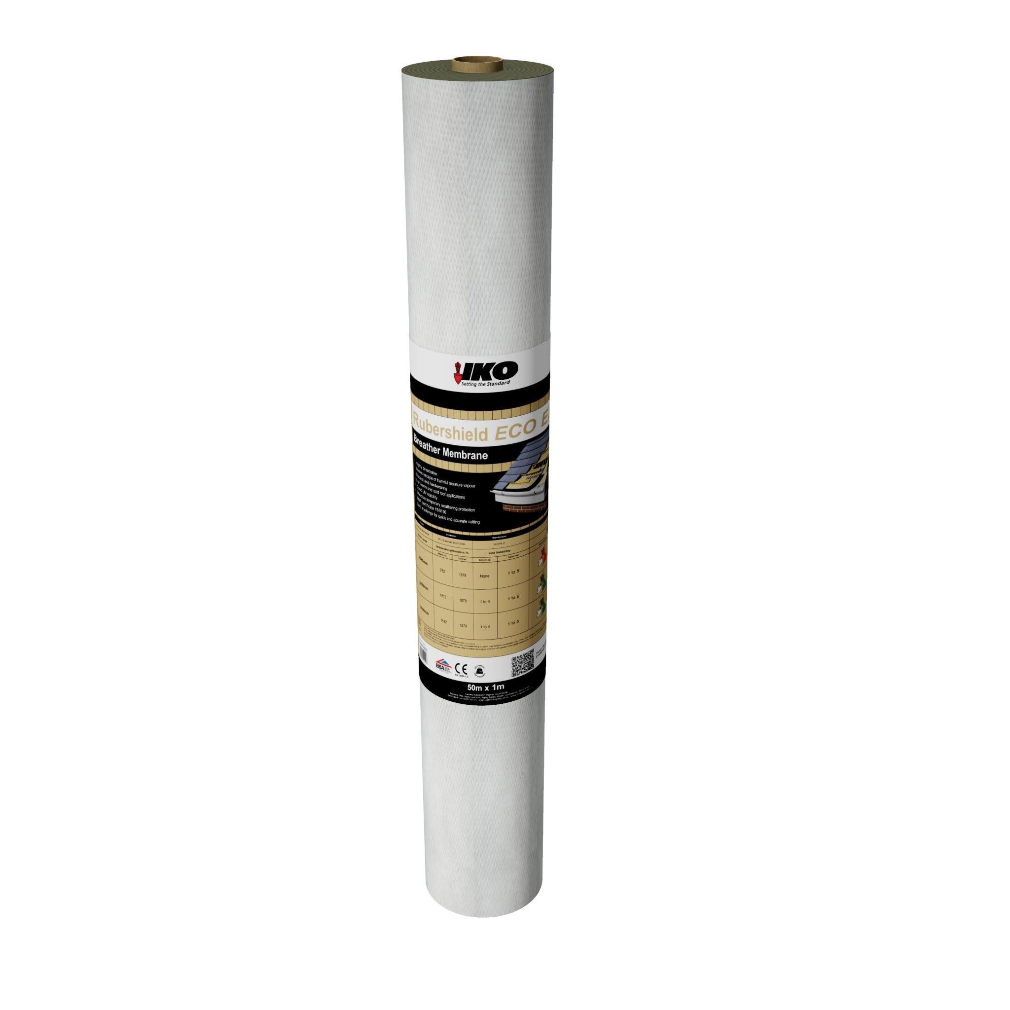 Rubbershield Eco Extra Breather Membrane 50x1.5mtr