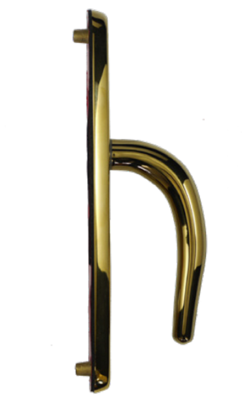 Citysafe Standard Door Handles PVD Gold 243mm