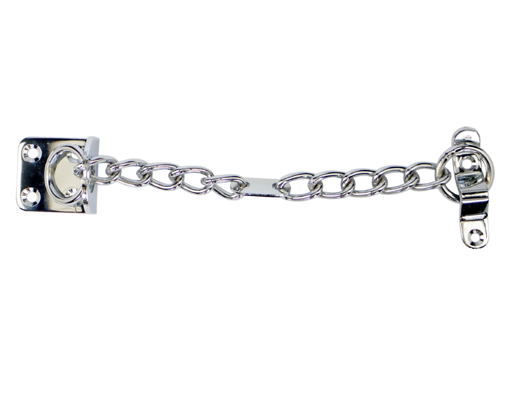 Citysafe Narrow Door Chain Chrome