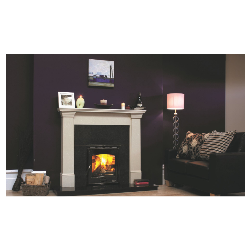 Kildare complete fireplace &  Castlecove inset stove Package
