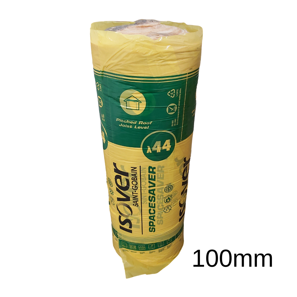 Spacesaver G3 Loft Roll Insulation 100mm   14.13m2 Roll