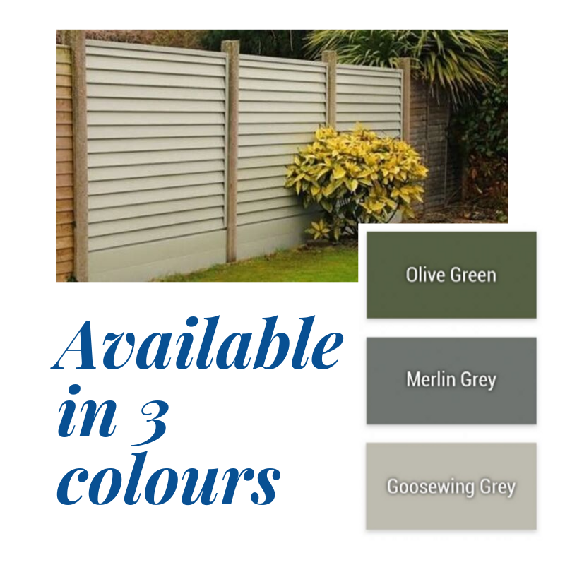 Kilally SmartFence Panel Pack   Merlin Grey  1.8x1.5M (6x5ft)