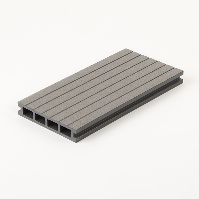Composite Deck Board Montana Soft Grey Hollow  135 x 25 x 3600mm