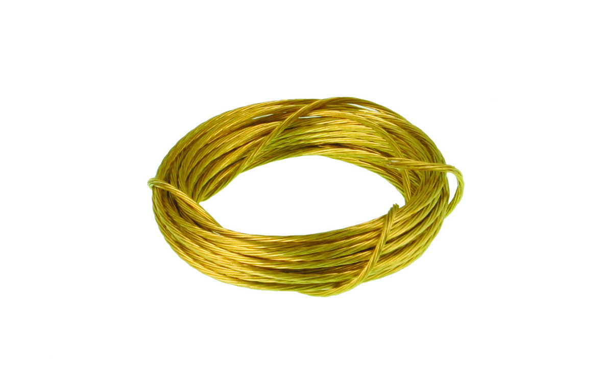 Picture Wire Brass
