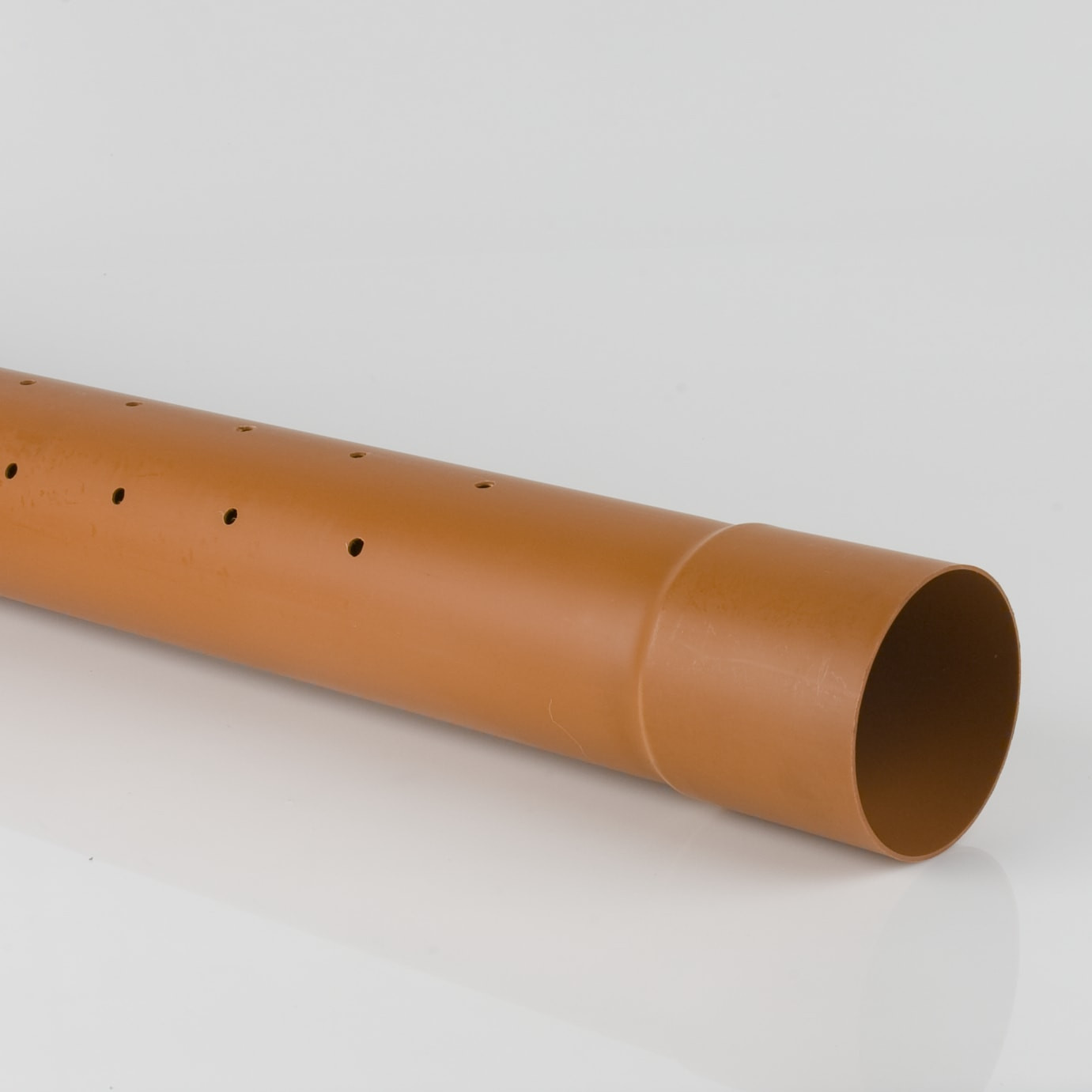 Socketed Sewer Pipe 110mm 6M Perforated