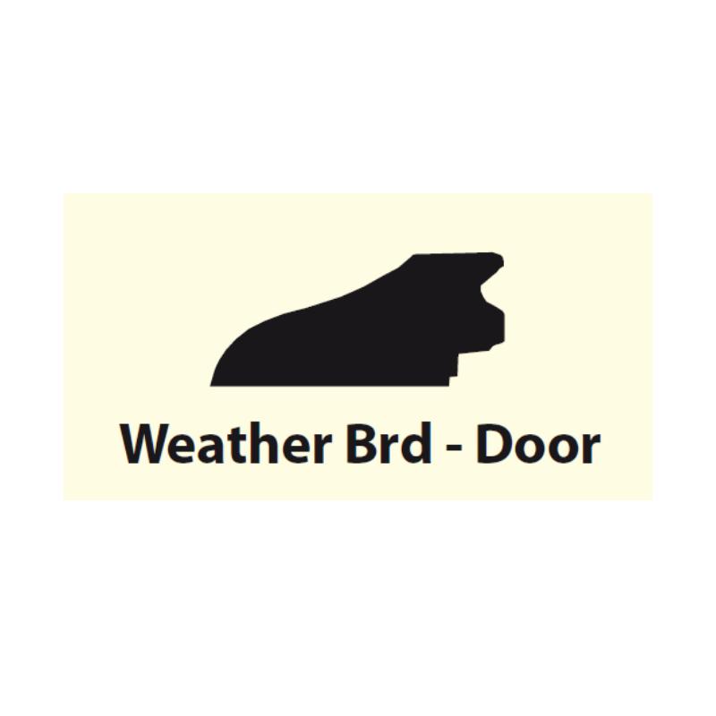 Weather Board Teak 3ft