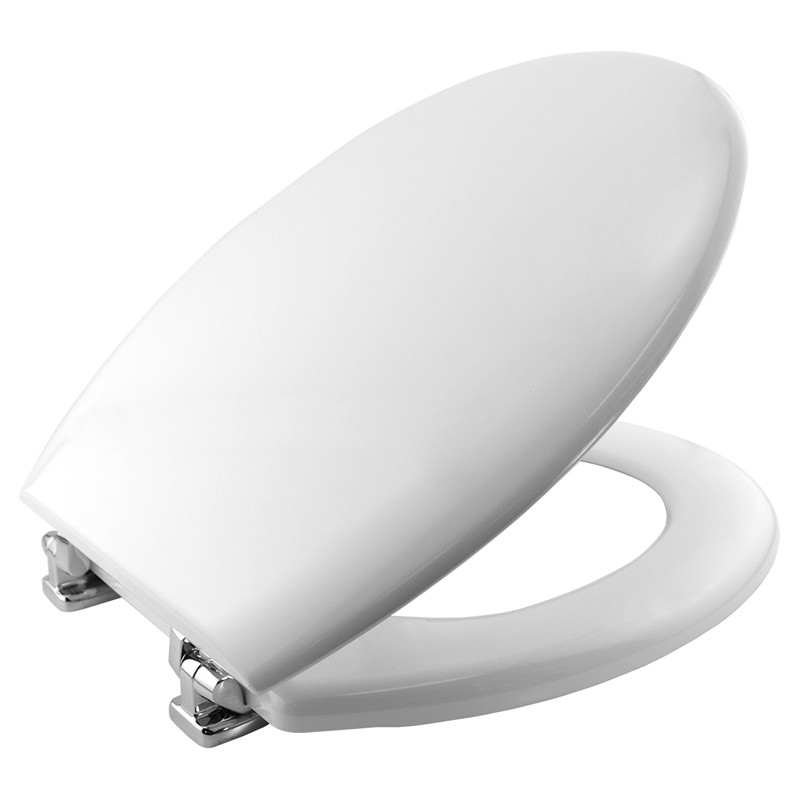 Bemis 4100CP Plain Toilet Seat White