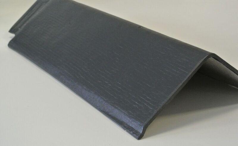 Ridge Tile 90 Deg 400mm Black