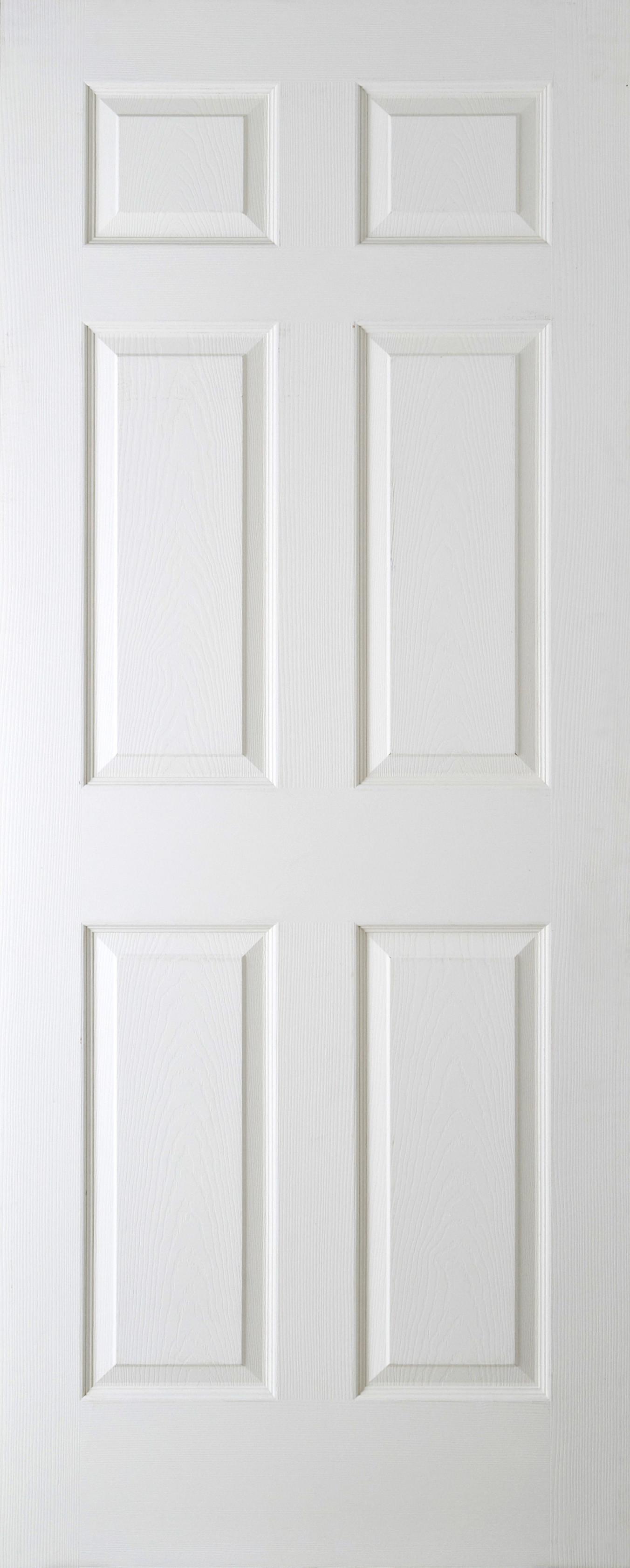 """Regency Woodgrain Door 1981x762mm 6 Panel (78""""x30"""") 44mm Width"""