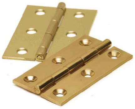 Butt Hinge 40mm Brass (pair)