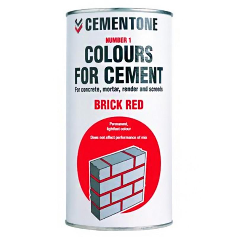 Cement Colour 1kg Tile Red
