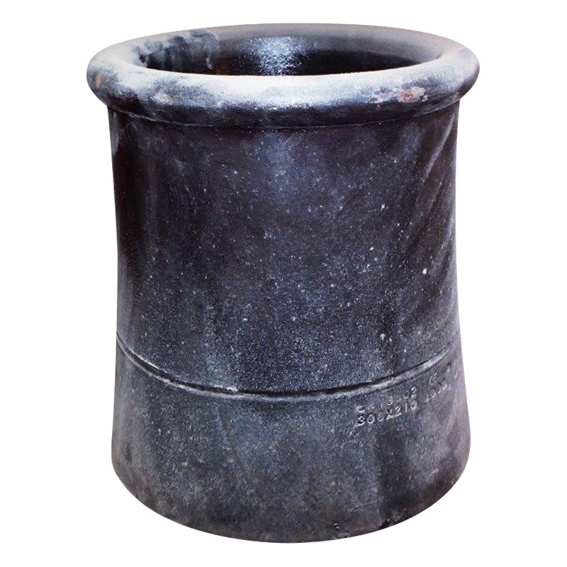 Chimney Pot No.1 450mm Rolltop Black