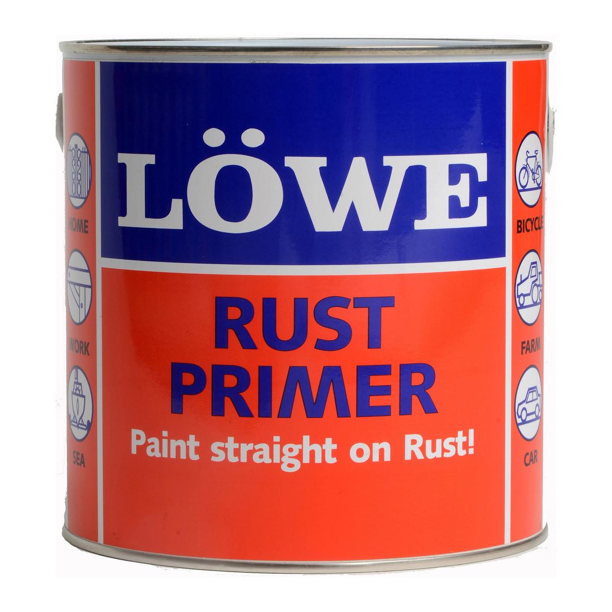 Lowe Rust Primer Tile Red 3.0kg