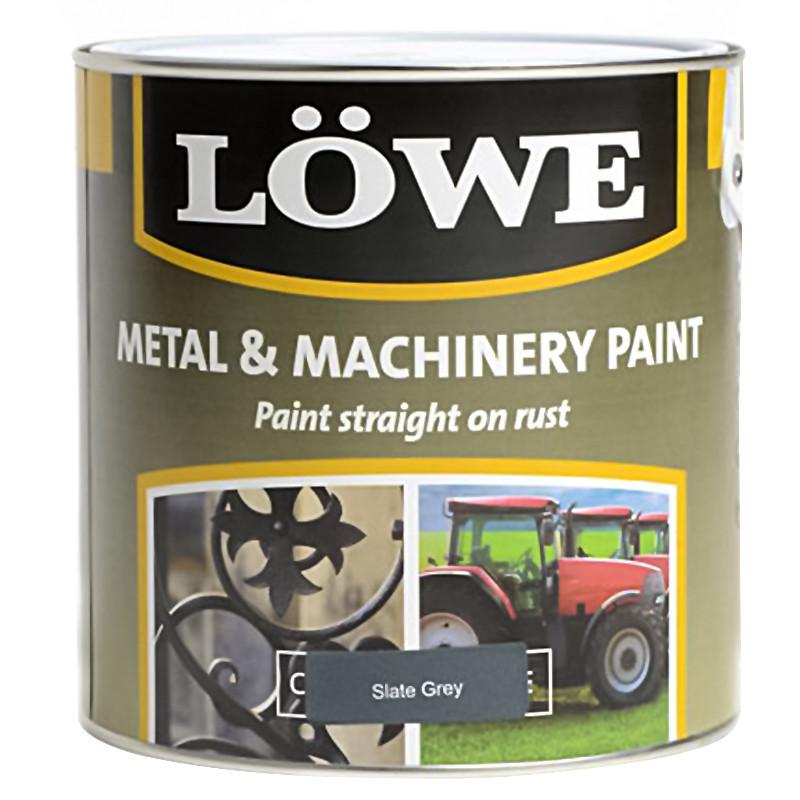 Lowe Metal & Machinery Paint Slate Grey 250ml