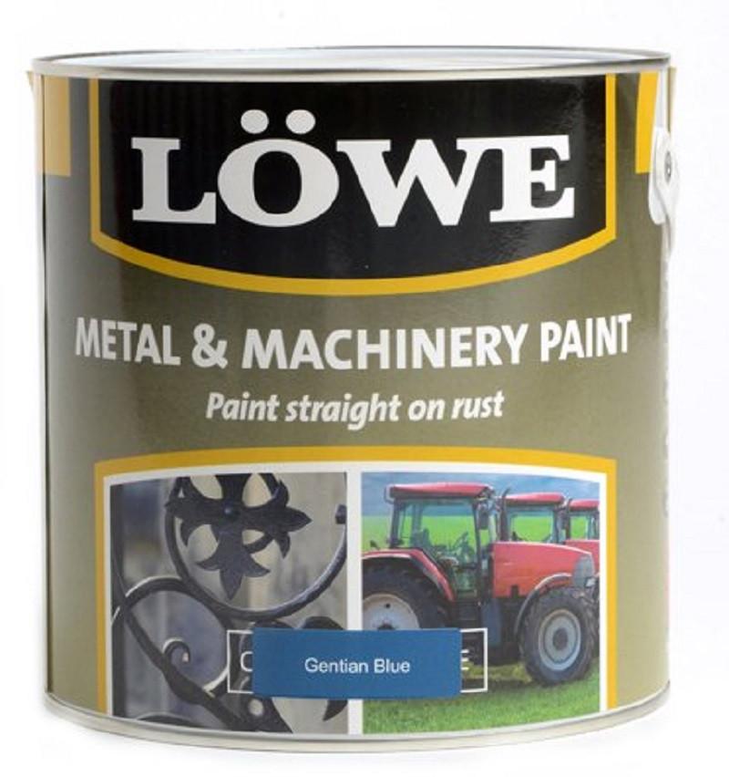 Lowe Metal & Machinery Paint Blue 1ltr
