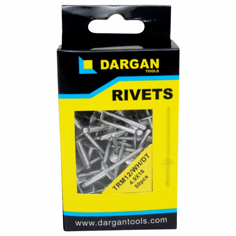 Dargan Pop Rivets TRB11 4.9x16mm